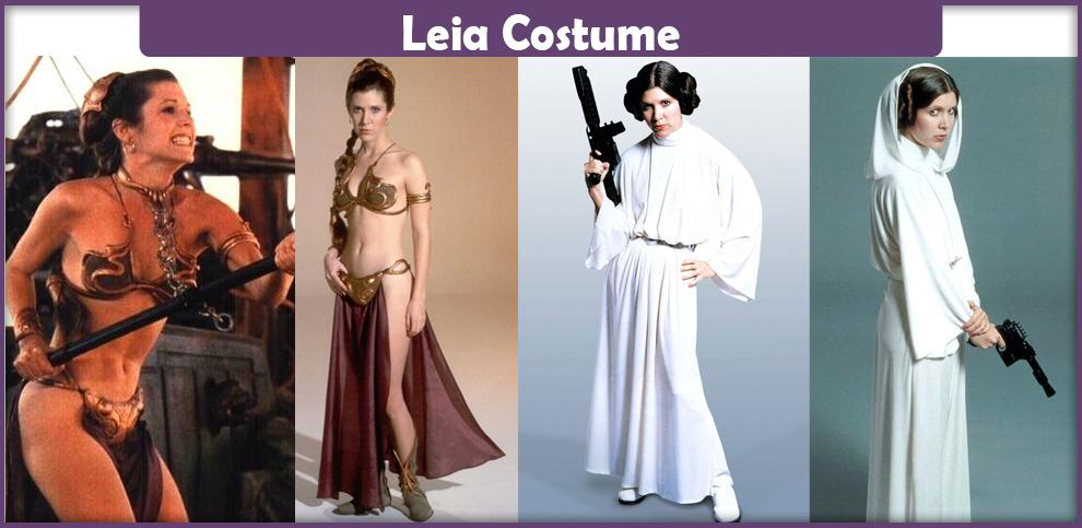 how to make a homemade princess leia costume