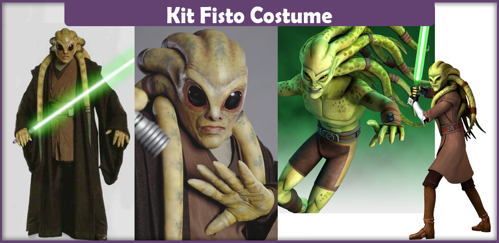 how to make a kit fisto mask