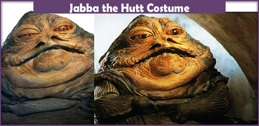 Jabba The Hutt Costume - A DIY Guide - Cosplay Savvy Jabba The Hutt Costume