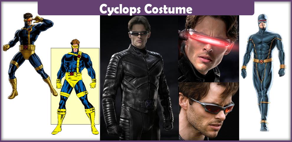 X Men Cyclops Movie Costume Cyclops Costume...