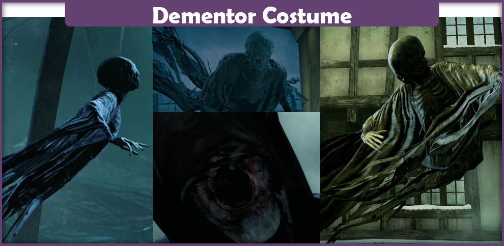 dementor costume - a diy guide