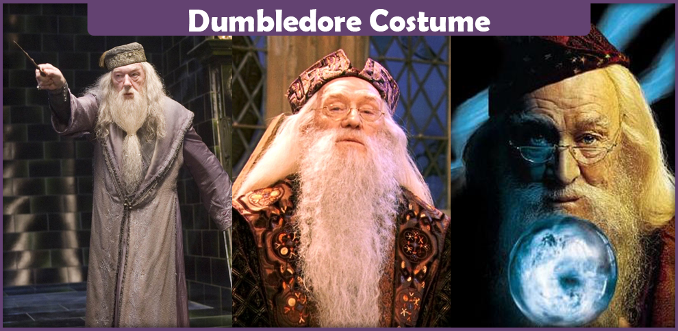 dumbledore costume - a diy guide
