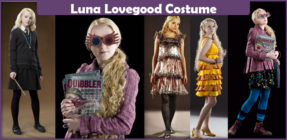 Luna Lovegood Costume - A DIY Guide - Cosplay Savvy Weasley Family Anime