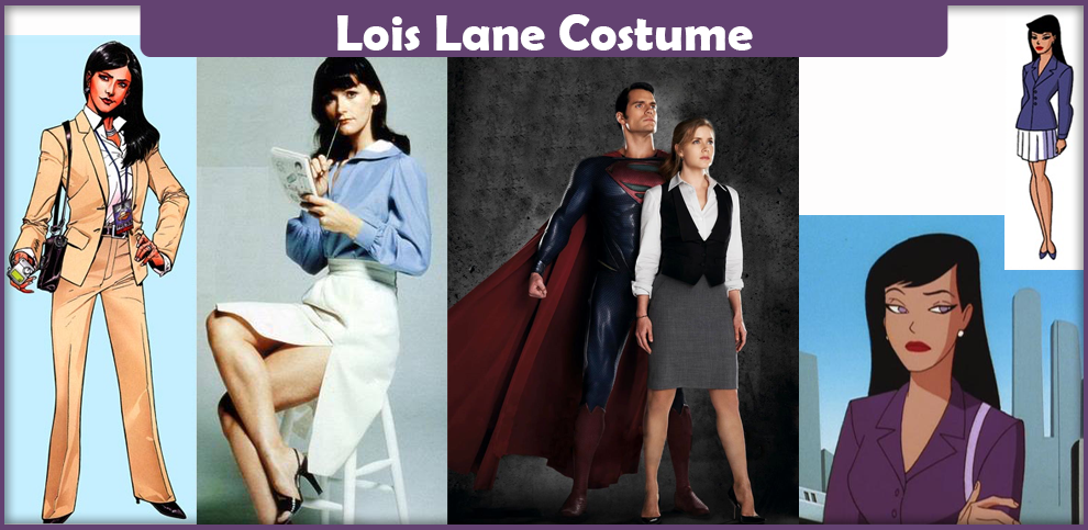 sc 1 st  Cosplay Savvy & Lois Lane Costume - A DIY Guide - Cosplay Savvy