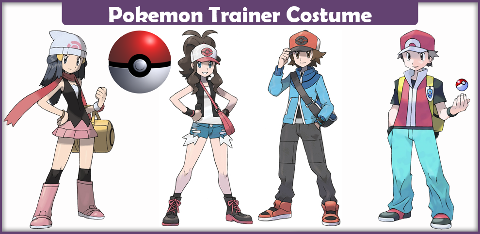 pokemon trainer costume a diy guide cosplay savvy. Black Bedroom Furniture Sets. Home Design Ideas