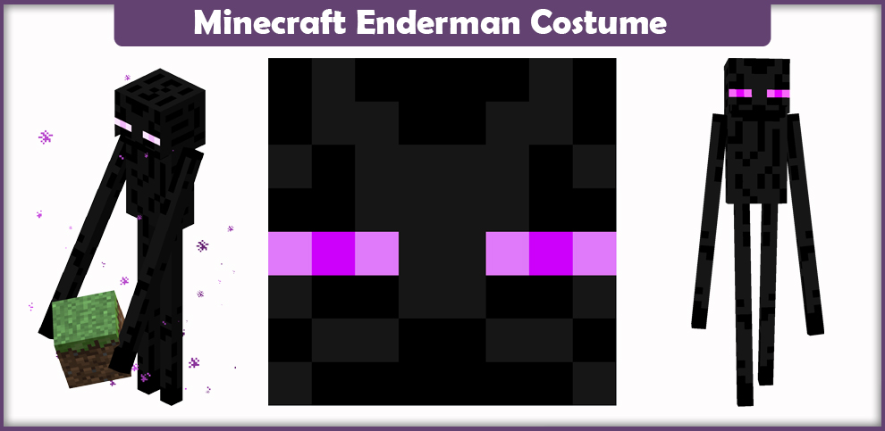 Minecraft Enderman Cosplay