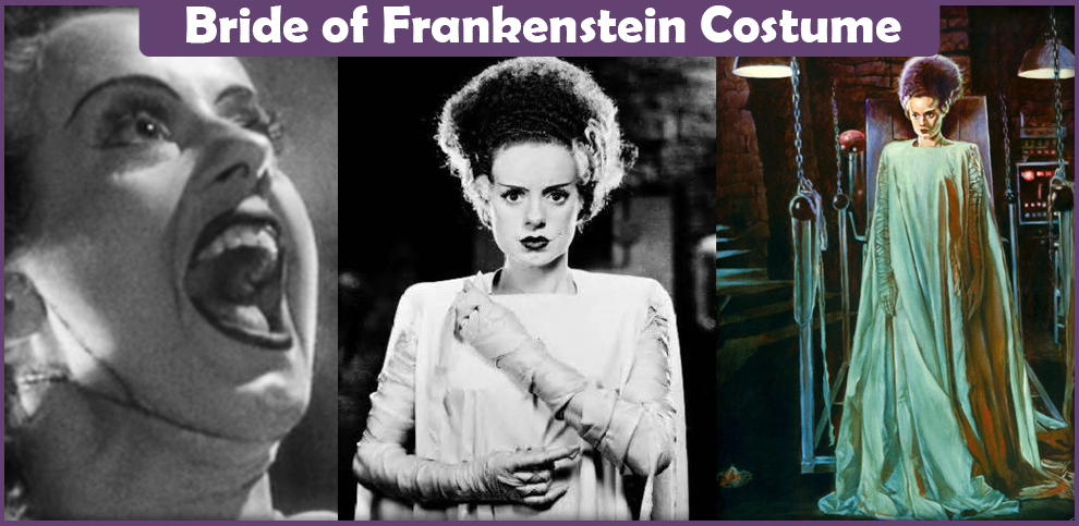 Bride of Frankenstein Costume - A DIY Guide - Cosplay Savvy