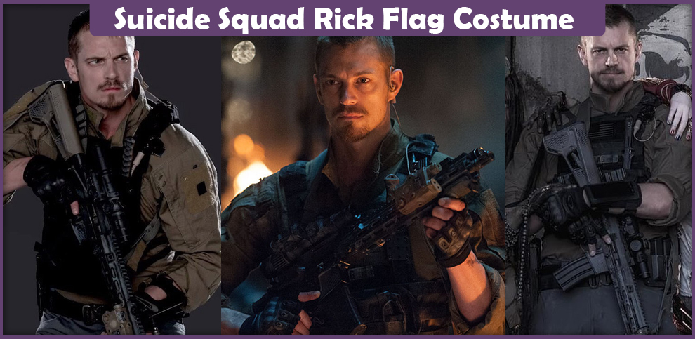 suicide squad rick flag costume - a diy guide